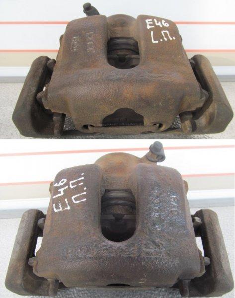 Суппорт тормозной Bmw E46 E46 M54B25 2000 передний