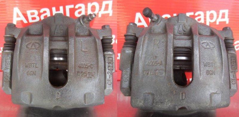 Суппорт тормозной Chery Tiggo T11 Т11 484F 2011 передний