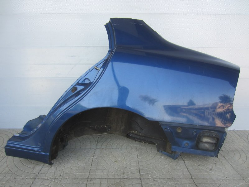 Крыло Chevrolet Lanos 2012 заднее левое