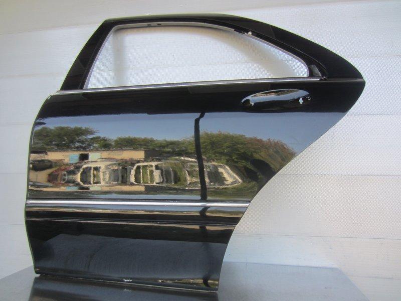 Дверь Mercedes-Benz W220 2002 задняя левая