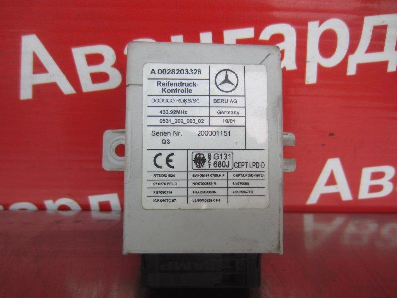 Блок управления rdc Mercedes-Benz W220 2002