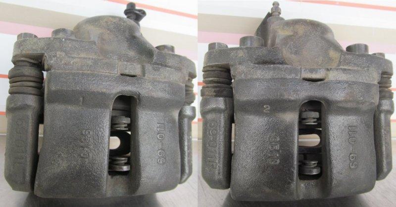 Суппорт тормозной Lifan Breez 2010 передний