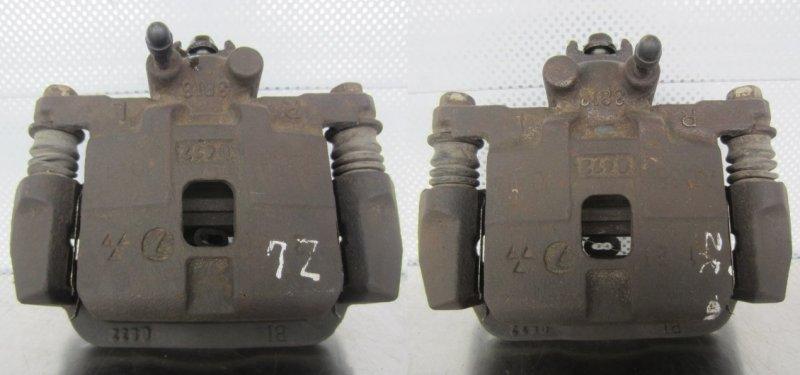 Суппорт тормозной Subaru Forester Sg5 EJ205 2003 задний
