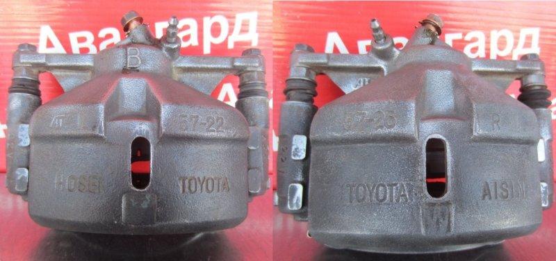 Суппорт тормозной Toyota Camry Sv30 4S-FE 1993 передний