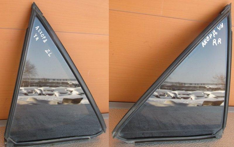 Форточка двери Honda Accord 6 УНИВЕРСАЛ 2000 задняя