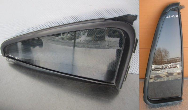 Форточка двери Honda Cr-V (Rd1) 1998 задняя