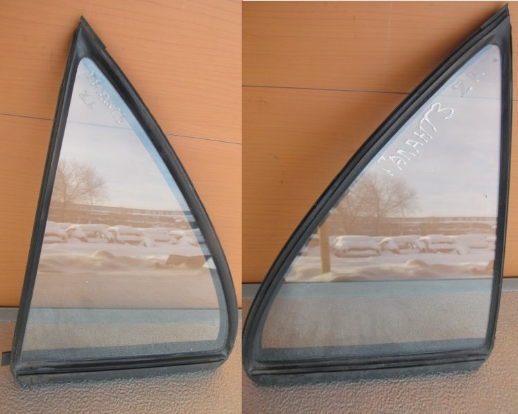 Форточка двери Mitsubishi Galant 7 1993 задняя