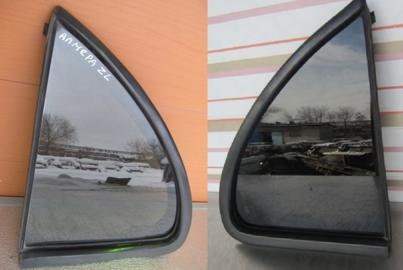 Форточка двери Nissan Almera N15 1998 задняя