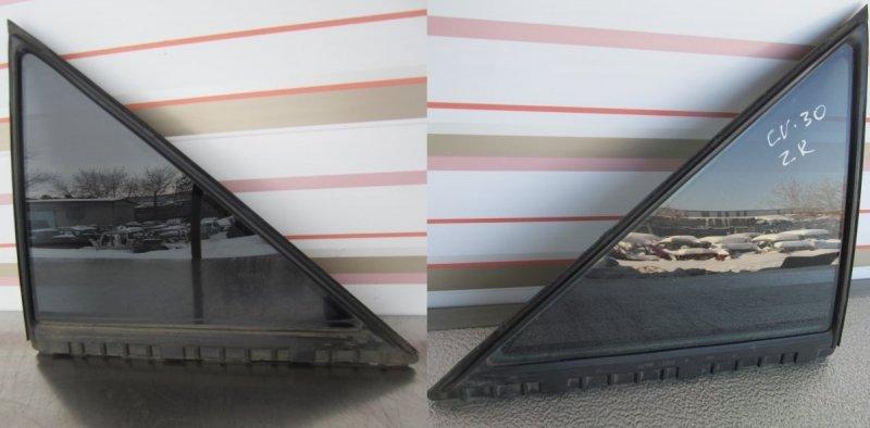 Форточка двери Toyota Camry Acv30 ACV30 2003 задняя