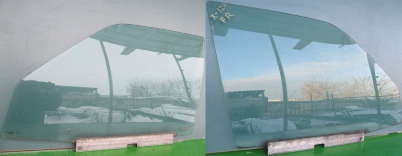 Стекло двери Mercedes-Benz W124 переднее