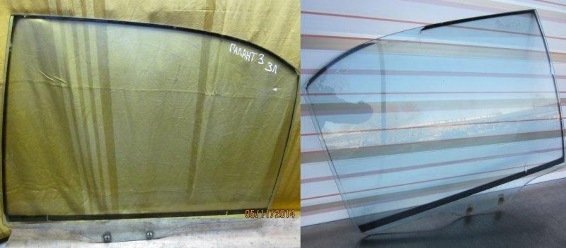 Стекло двери Mitsubishi Galant 7 1993 заднее
