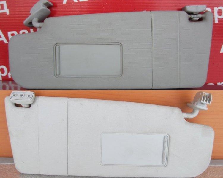 Козырек солнцезащитный Skoda Octavia A4 2008