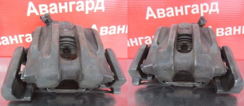 Суппорт тормозной Bmw E87 N43B16 2008 передний