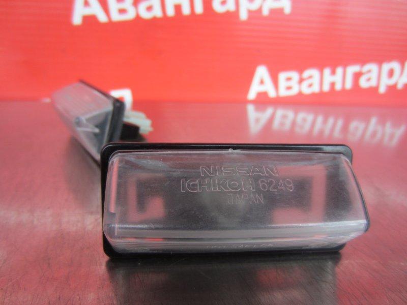 Фонарь подсветки номера Nissan Almera G15 G15 K4M 2014