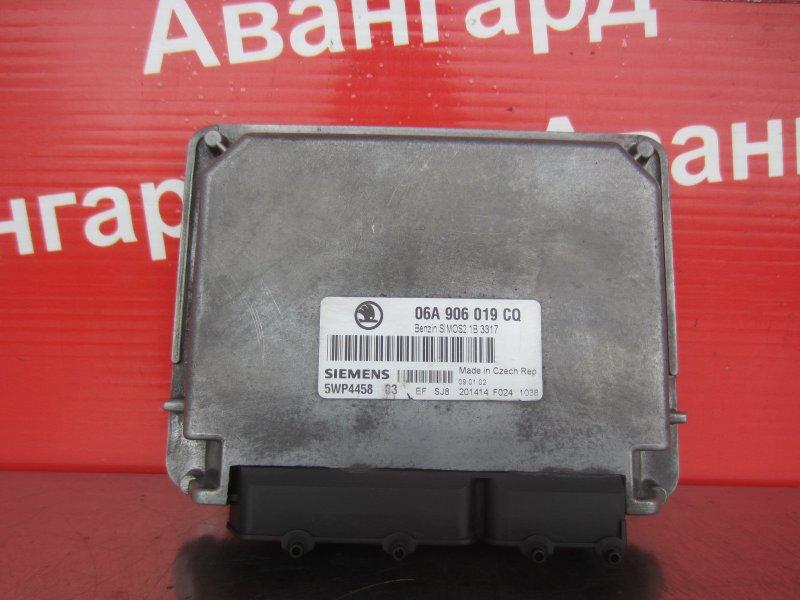 Эбу двс Skoda Octavia A4 AKL 2002