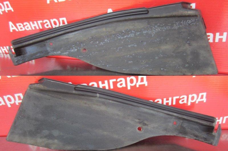Подкрылок Nissan Almera G15 G15 K4M 2014 задний левый