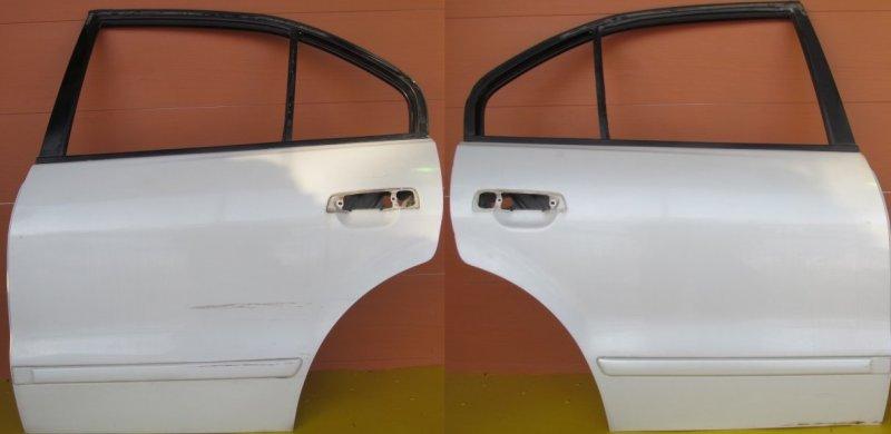 Дверь Mitsubishi Galant 8 2000 задняя