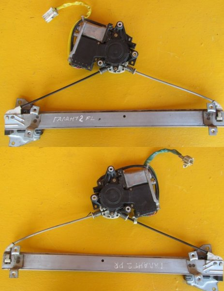 Стеклоподъёмник Mitsubishi Legnum передний