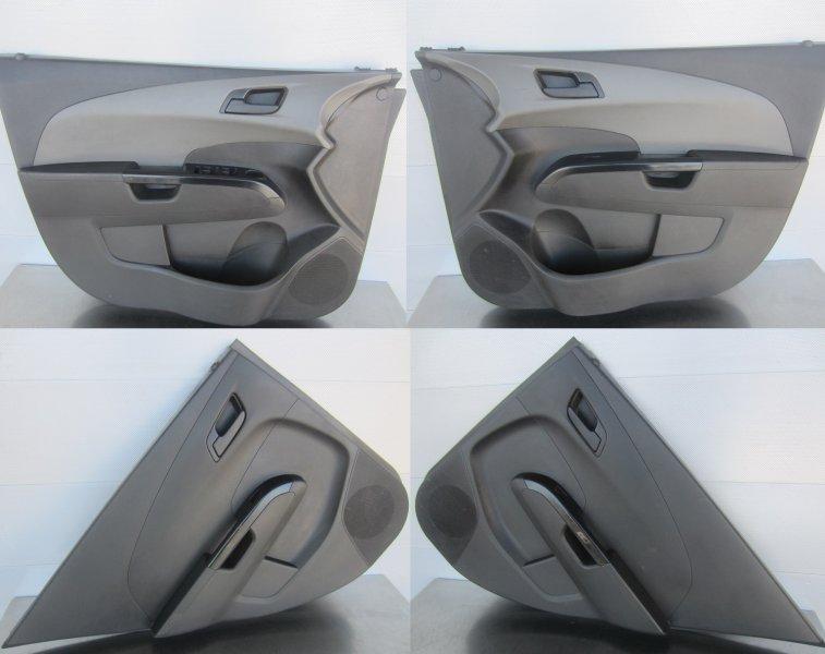 Обшивки дверей комплект Chevrolet Aveo T300 СЕДАН F16D4 2012