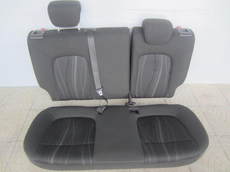 Сиденья Chevrolet Aveo T300 СЕДАН 2012 задняя