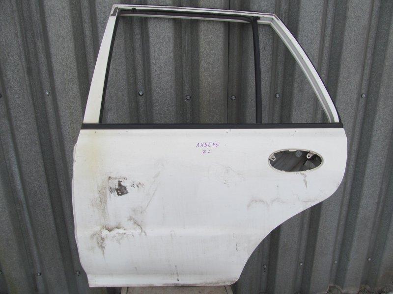 Дверь Mitsubishi Libero CB2V 2000 задняя левая