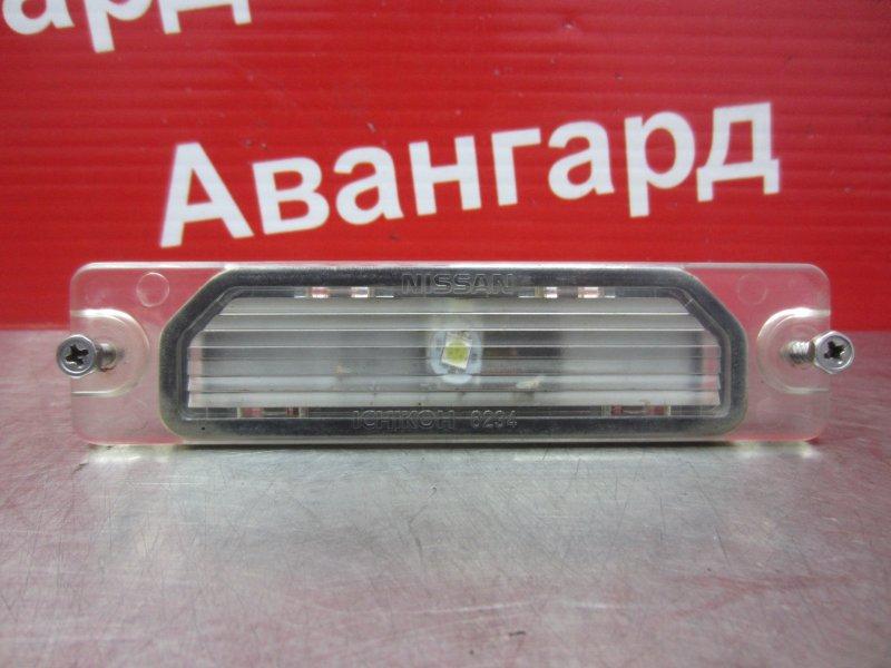 Фонарь подсветки номера Nissan Sunny B15 2000