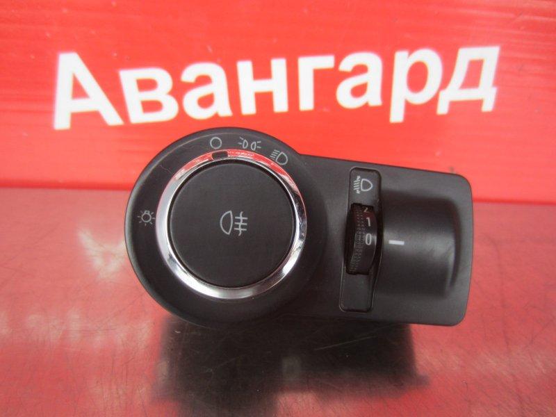 Блок управления светом Chevrolet Aveo T300 2012