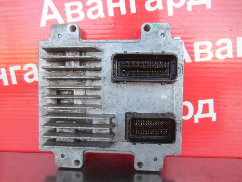 Эбу двс Chevrolet Aveo T300 F16D4 2012