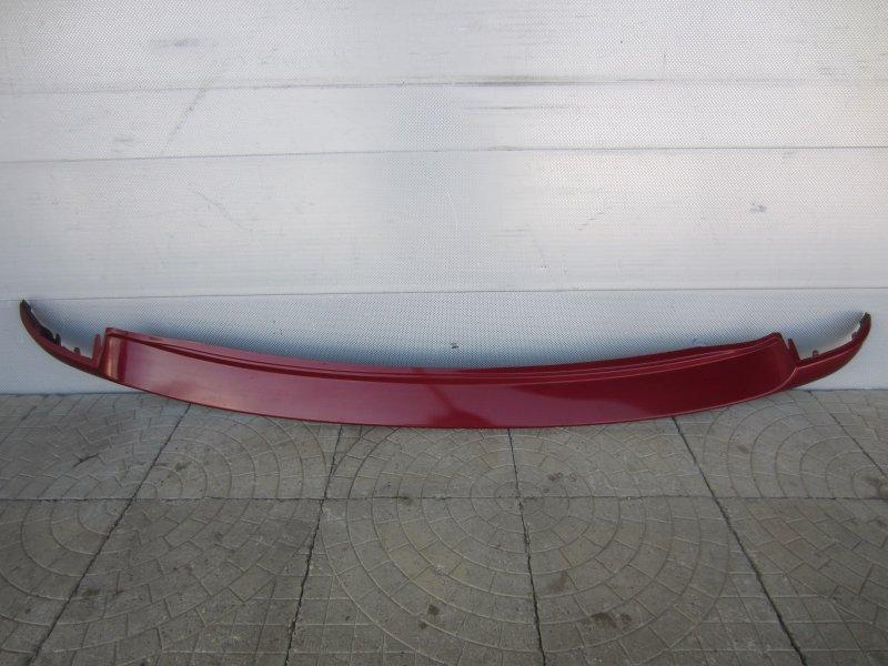 Накладка бампера Mitsubishi Colt 2007 задняя