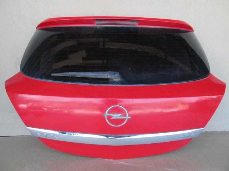 Крышка багажника Opel Astra H GTC Z16XER 2006 задняя