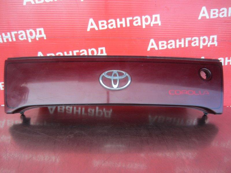 Накладка крышки багажника Toyota Corolla Ceres AE100 5A-FE 1996