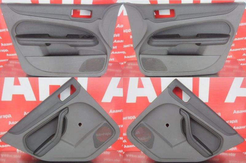 Обшивки дверей комплект Ford Focus 2 СЕДАН 2007