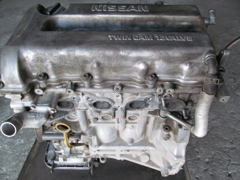 Двигатель Nissan Primera P11 SR20 1998