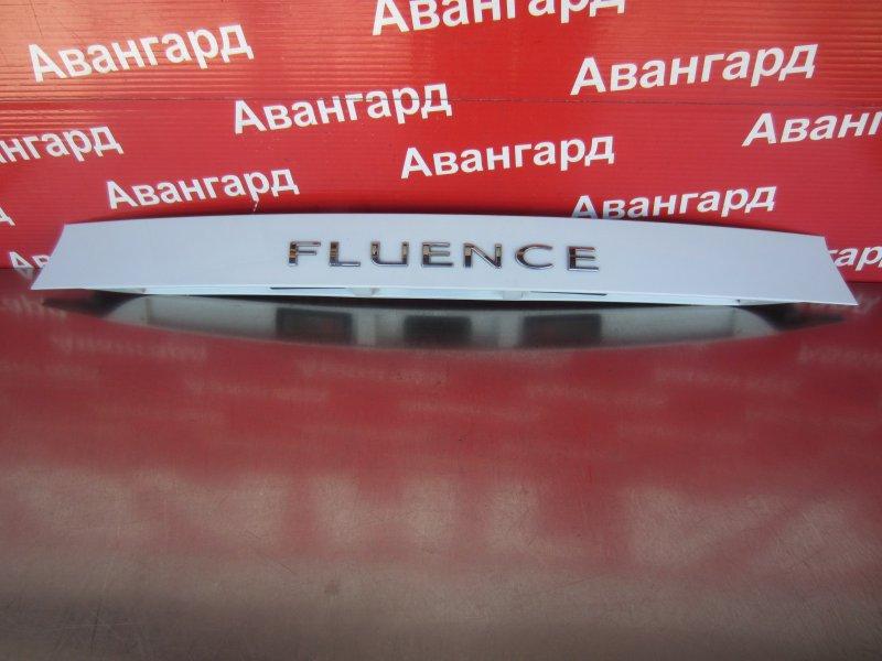 Накладка крышки багажника Renault Fluence K4M 2014