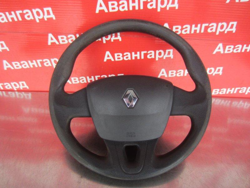 Руль Renault Fluence K4M 2014