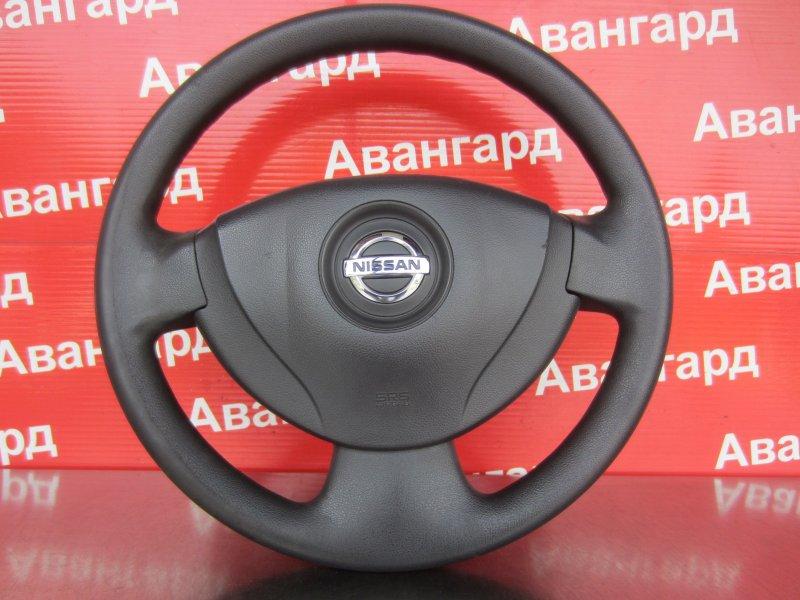 Руль Nissan Almera G15 K4M 2014