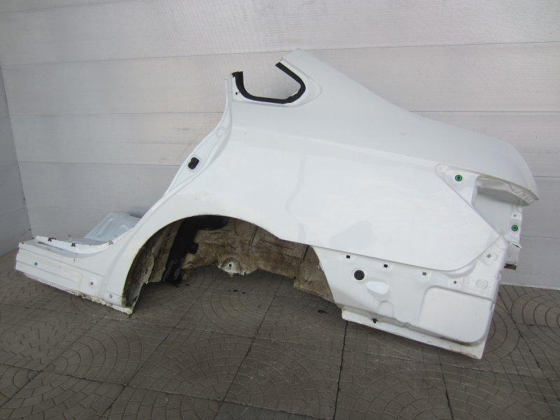 Крыло Nissan Almera G15 K4M 2014 заднее левое