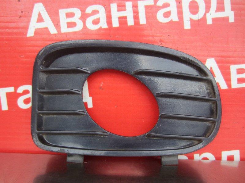Накладка бампера Opel Vectra B 2001 левая