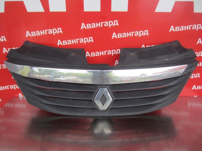 Решетка радиатора Renault Logan 2010