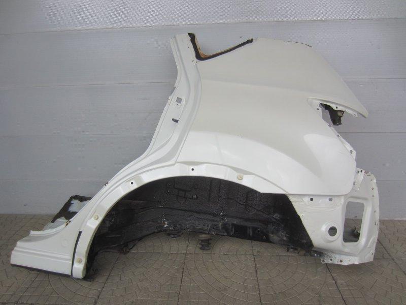 Крыло Nissan Qashqai J10 J10 HR16 2013 заднее левое
