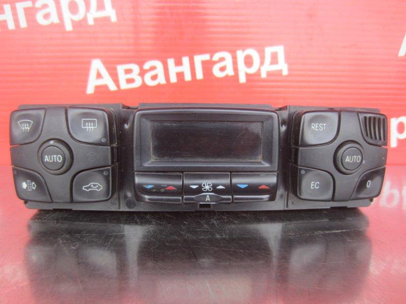 Блок управления печкой Mercedes-Benz W220 1999