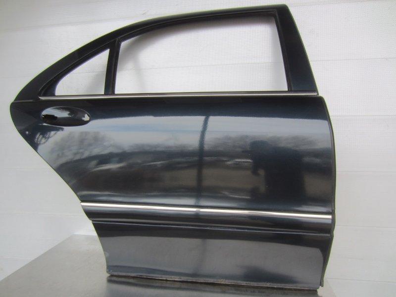 Дверь Mercedes-Benz W220 М113 1999 задняя правая