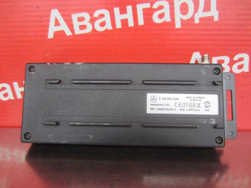 Блок управления телефоном Mercedes-Benz W220 М113 1999