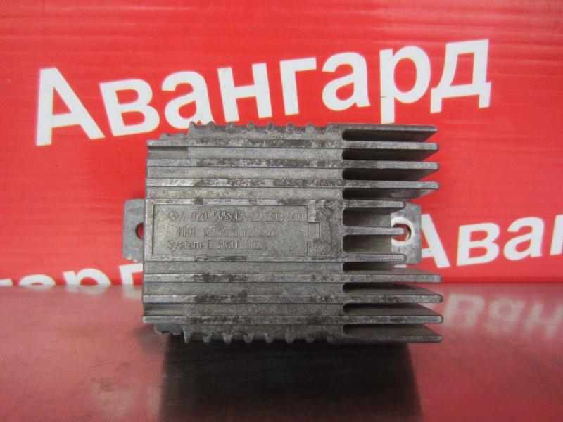 Блок управления вентилятором Mercedes-Benz W220 М113 1999