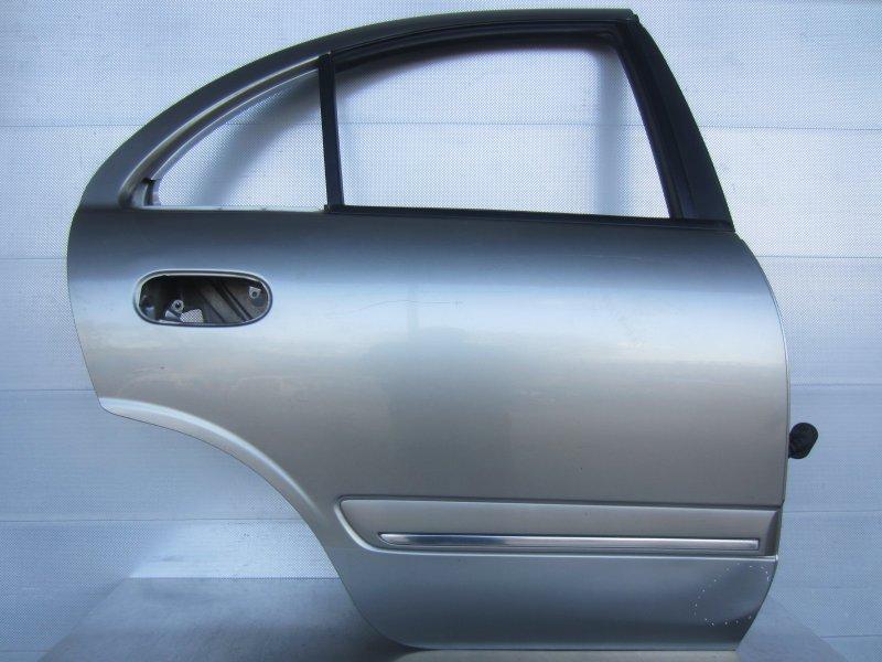Дверь Nissan Bluebird Sylphy G10 QG18 2003 задняя правая