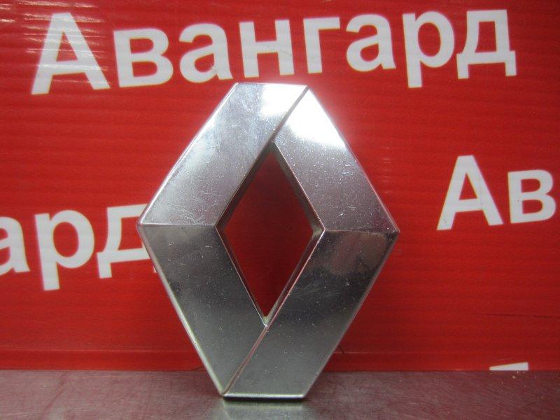 Эмблема Renault Logan 2011 передняя
