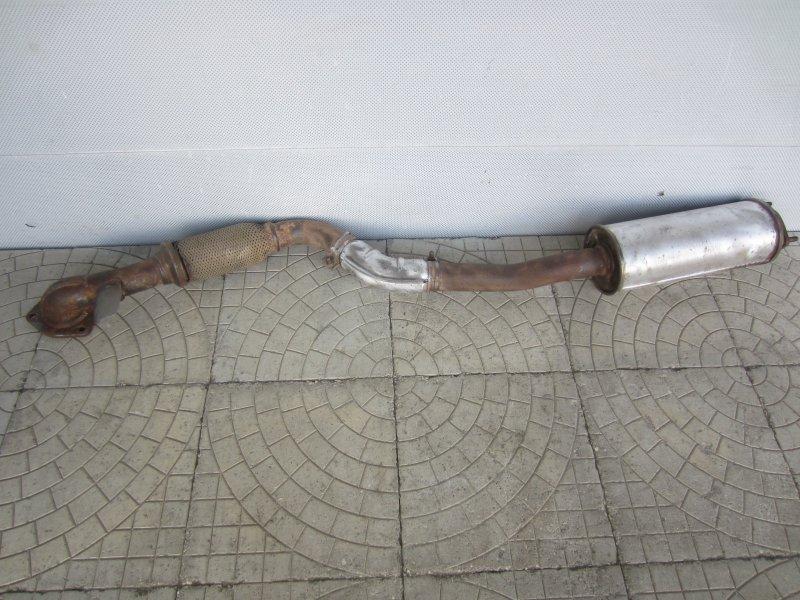 Труба приемная Chevrolet Lacetti F16D3 2008