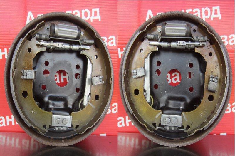 Тормозной щит Fiat Albea 350A1000 2011 задний