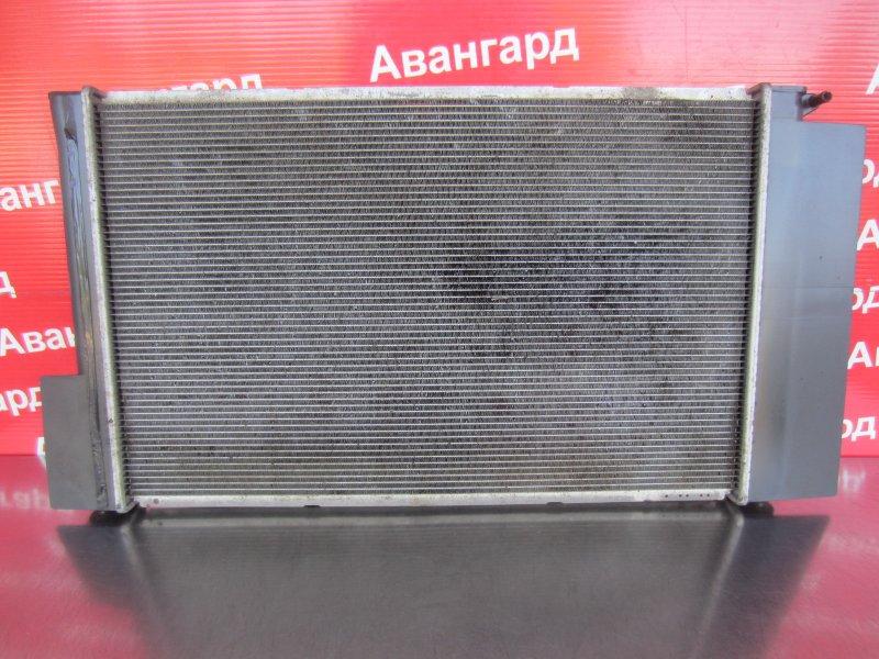 Радиатор охлаждения Toyota Corolla 150 1ZR-FE 2007