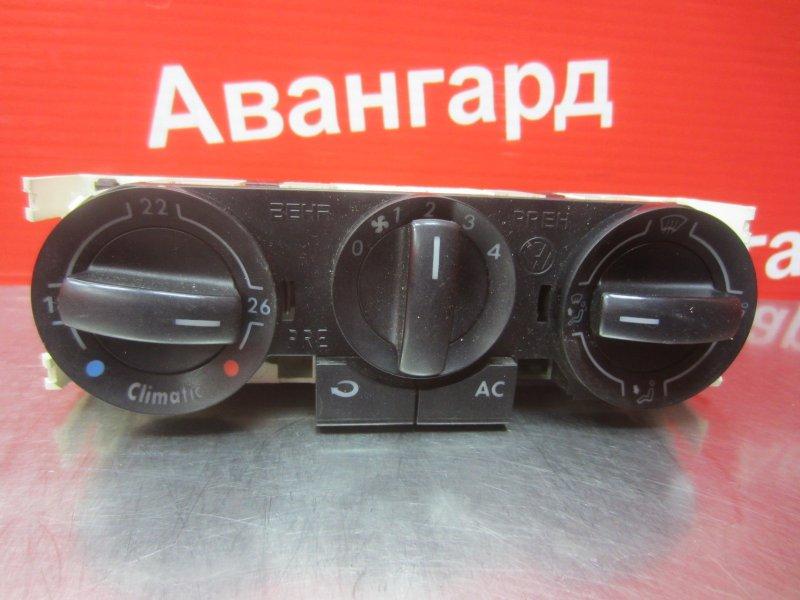 Блок управления печкой Volkswagen Polo Mk4 9N3 2006